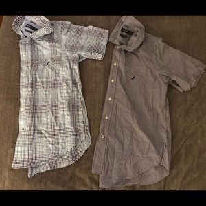 Other - Nautica short sleeve button down sold together